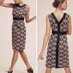 HD Paris Cutwork Column Dress